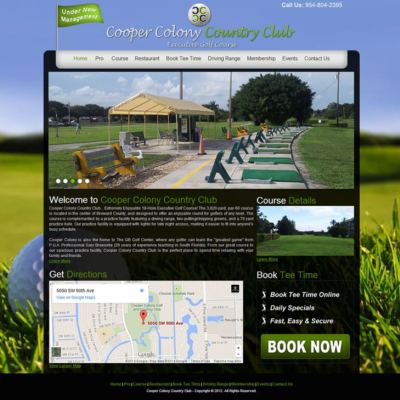 Cooper Colony Golf