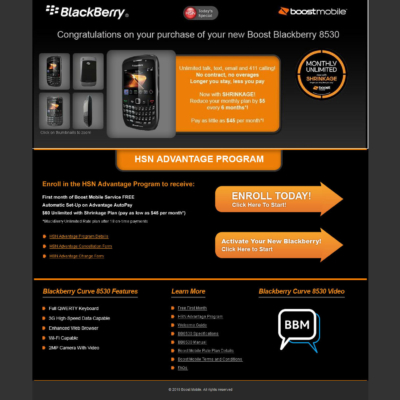 HSN Blackberry